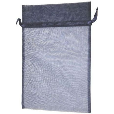 Organza Bag - Navy Blue 8 x 12