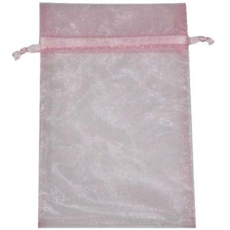 Organza Bag - Pink 5 x 8