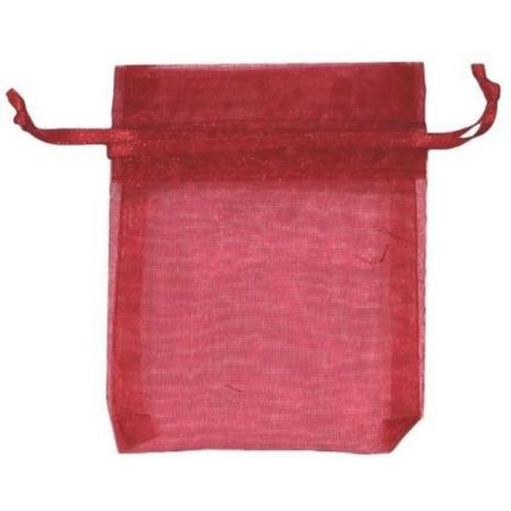 Organza Bag - Red 3 x 4
