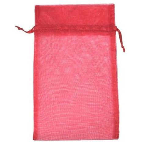 Organza Bag - Red 5 x 8