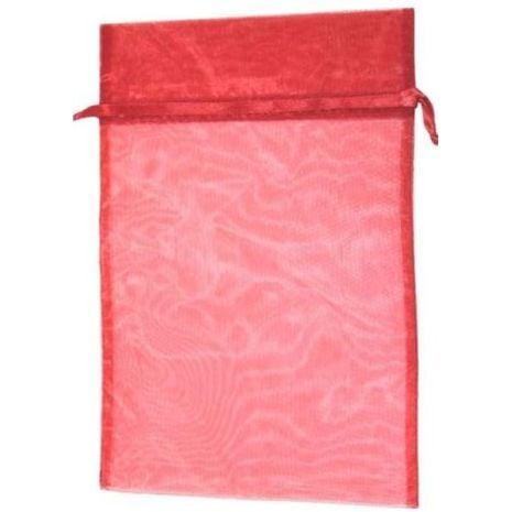 Organza Bag - Red 8 x 12