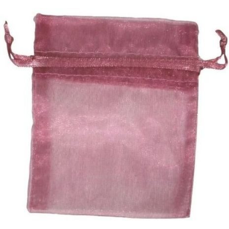 Organza Bag - Rose 3 x 4