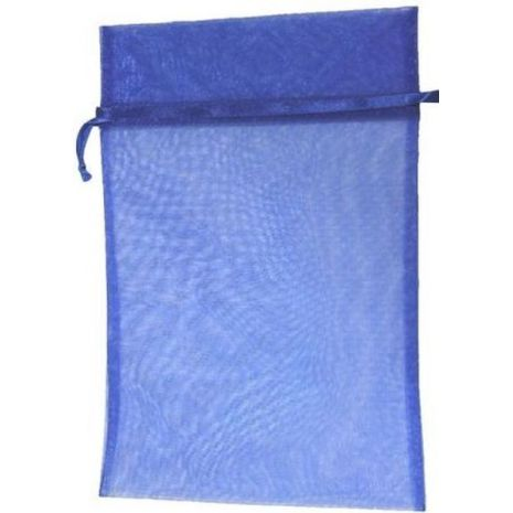 Organza Bag - Royal Blue 8 x 12