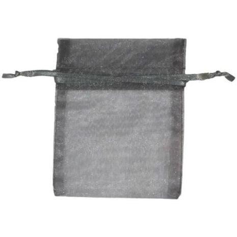 Organza Bag - Silver 3 x 4