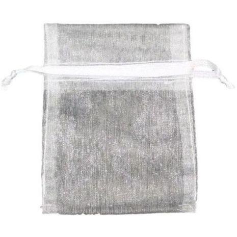 Organza Bag - White 3 x 4