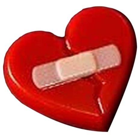 Stylized Broken Heart Soap Mold