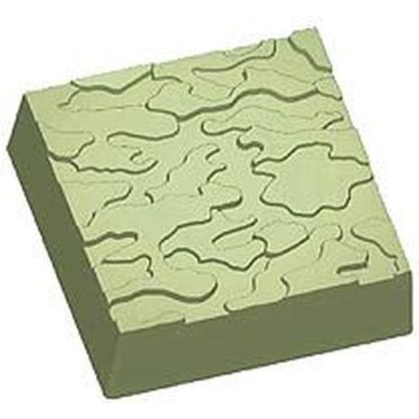 Stylized Camouflage Soap Mold
