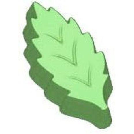 Stylized Chunky Leaf Soap Mold