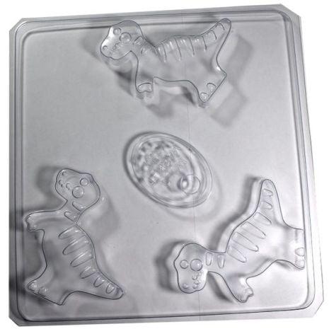 Stylized Dinosaur Soap Mold
