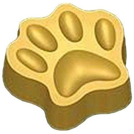 Stylized Dog Print Soap Mold