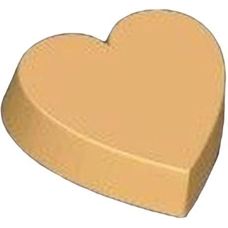 Stylized Large Heart Soap Mold