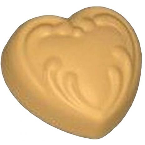 Stylized Large Victorian Heart Soap Mold