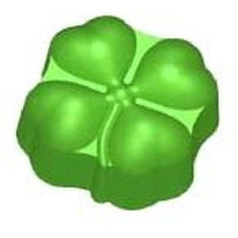 Stylized Lucky Clover Leaf Soap Mold