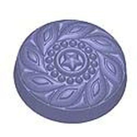 Stylized Ornate Deco Button Soap Mold
