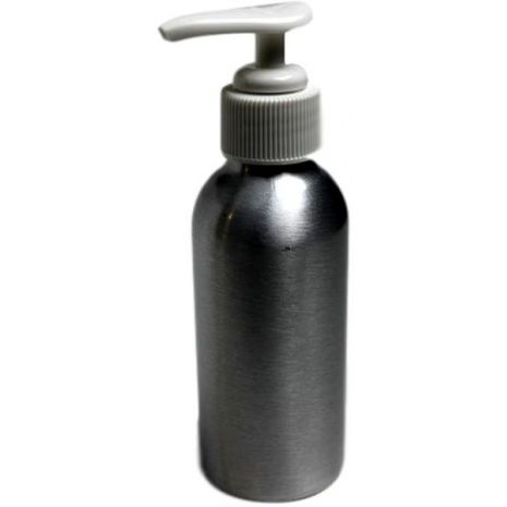Aluminum Canister with Lotion Pump 120 ml