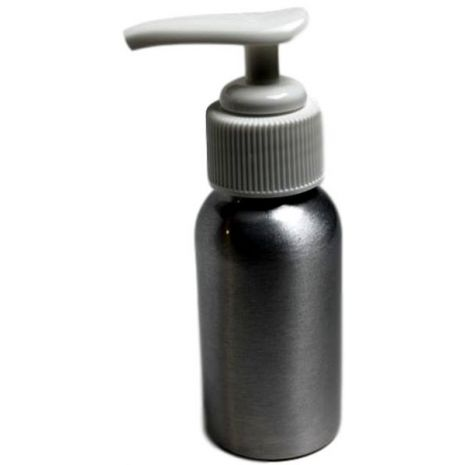 Aluminum Canister with Lotion Pump 60 ml