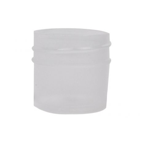 Plastic Jar 1/4 Oz Natural