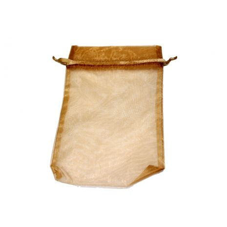 Organza Bag - Toffee 5 x 8