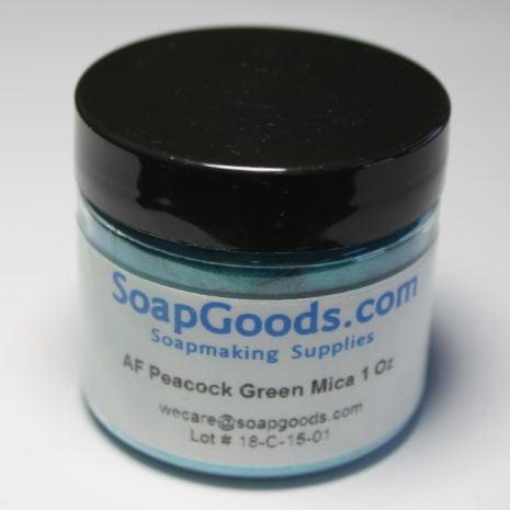 AF Peacock Green Mica