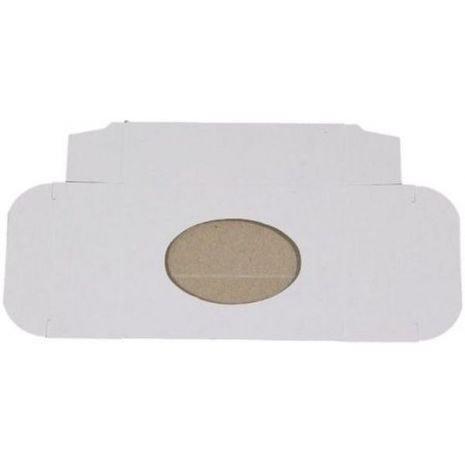 Soap Box - White Oval Lg