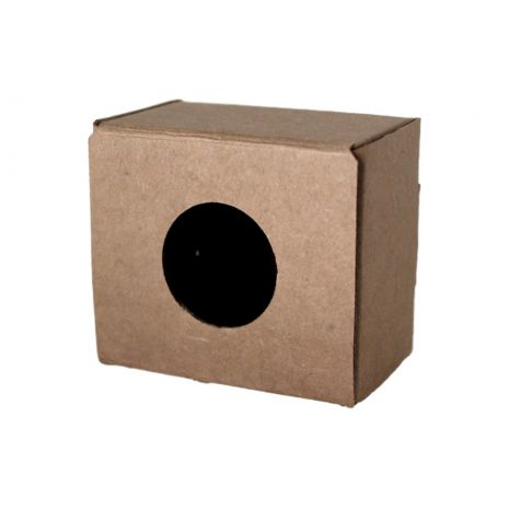 Soap Box - Kraft Tuck Box With Circle